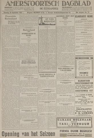 Amersfoortsch Dagblad / De Eemlander 1931-09-26