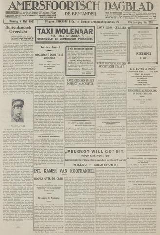 Amersfoortsch Dagblad / De Eemlander 1931-05-05