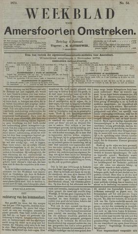 Weekblad voor Amersfoort en Omstreken 1873-01-04