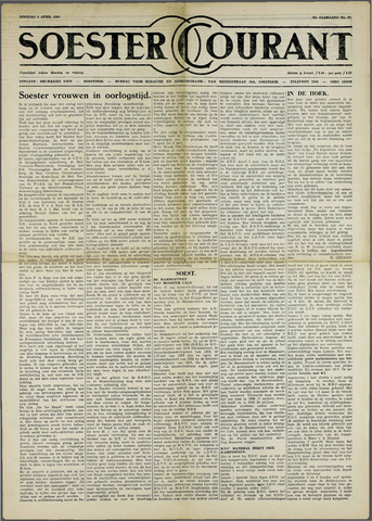 Soester Courant 1960-04-05