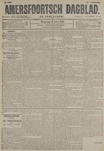 Amersfoortsch Dagblad / De Eemlander 1916-06-19