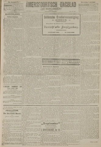 Amersfoortsch Dagblad / De Eemlander 1920-07-01