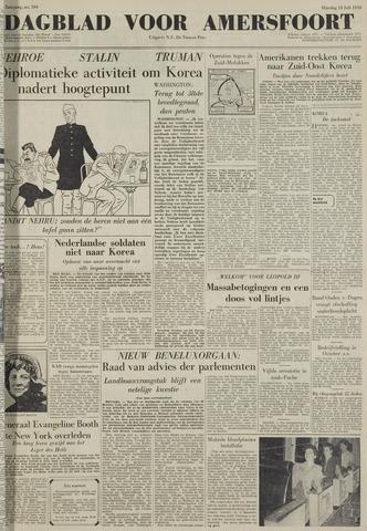 Dagblad voor Amersfoort 1950-07-18