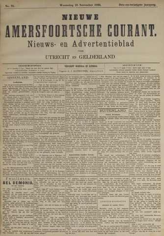 Nieuwe Amersfoortsche Courant 1894-11-28