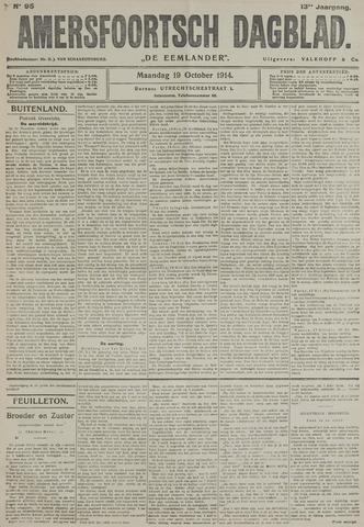 Amersfoortsch Dagblad / De Eemlander 1914-10-19