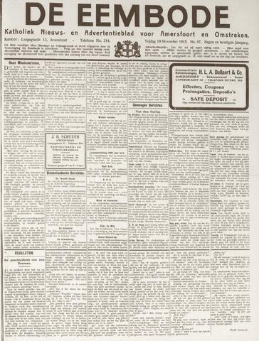 De Eembode 1915-11-19