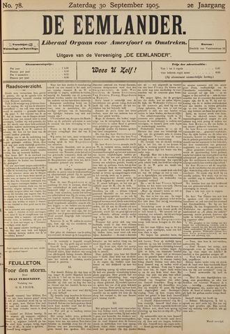 De Eemlander 1905-09-30