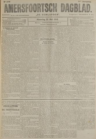 Amersfoortsch Dagblad / De Eemlander 1916-05-22
