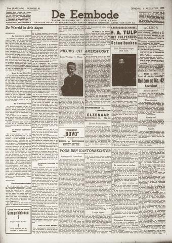 De Eembode 1937-08-03