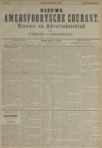 Nieuwe Amersfoortsche Courant 1888-02-22