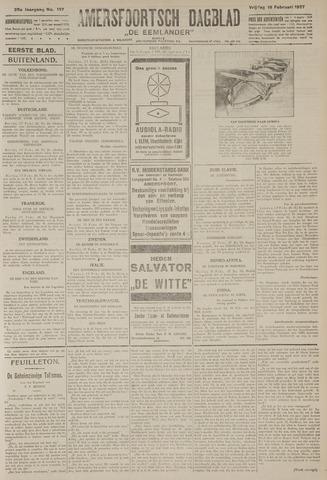 Amersfoortsch Dagblad / De Eemlander 1927-02-18