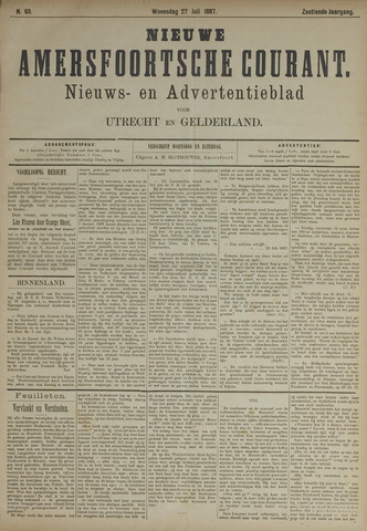Nieuwe Amersfoortsche Courant 1887-07-27