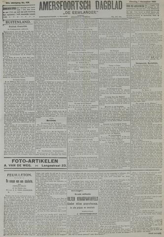 Amersfoortsch Dagblad / De Eemlander 1921-11-01