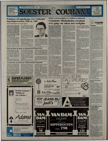 Soester Courant 1986-11-05