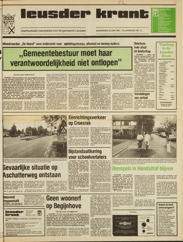 Leusder Krant 1985-06-20