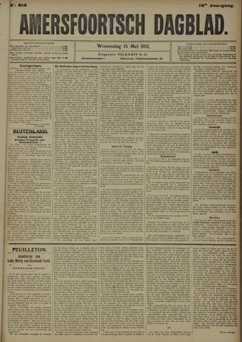 Amersfoortsch Dagblad 1912-05-15