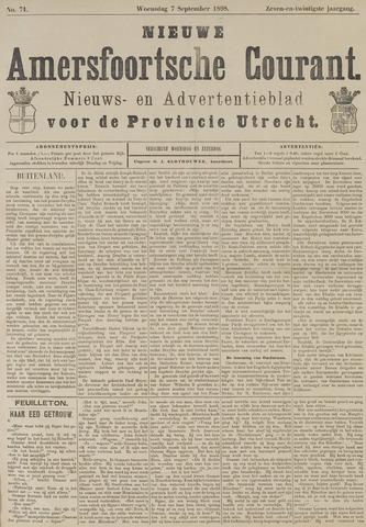 Nieuwe Amersfoortsche Courant 1898-09-07