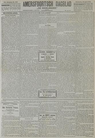 Amersfoortsch Dagblad / De Eemlander 1922-04-20