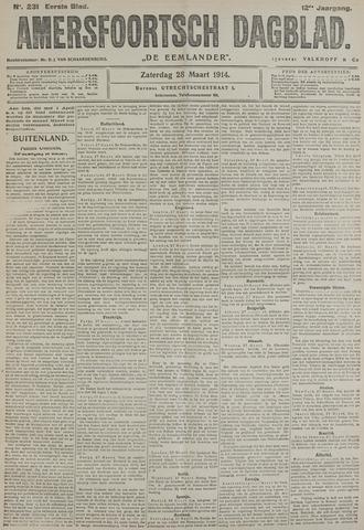 Amersfoortsch Dagblad / De Eemlander 1914-03-28