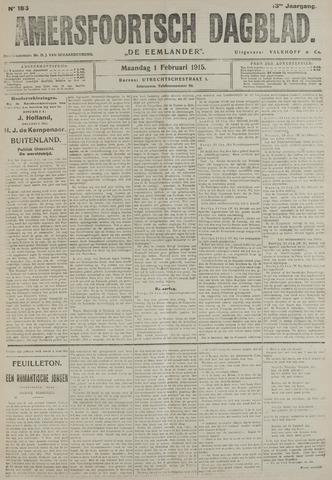 Amersfoortsch Dagblad / De Eemlander 1915-02-01