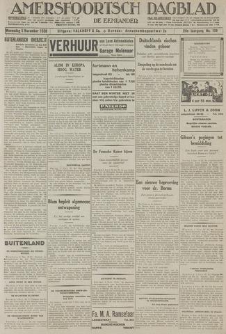 Amersfoortsch Dagblad / De Eemlander 1930-11-05