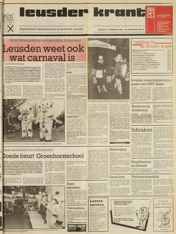 Leusder Krant 1988-02-16