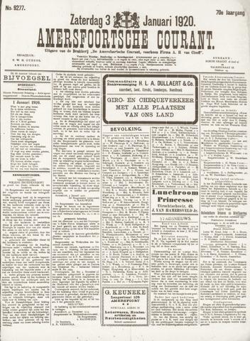 Amersfoortsche Courant 1920