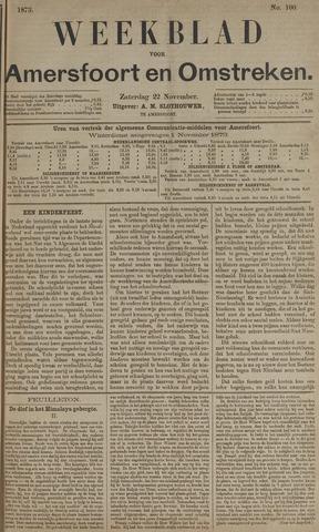 Weekblad voor Amersfoort en Omstreken 1873-11-22