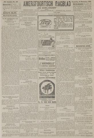 Amersfoortsch Dagblad / De Eemlander 1925-11-18