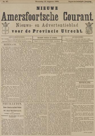 Nieuwe Amersfoortsche Courant 1900-08-22