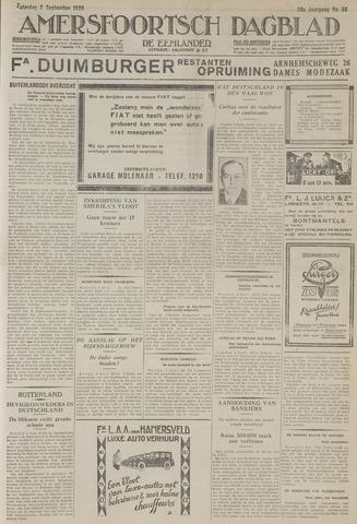 Amersfoortsch Dagblad / De Eemlander 1929-09-07