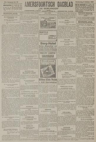 Amersfoortsch Dagblad / De Eemlander 1925-10-08