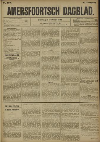 Amersfoortsch Dagblad 1911-02-21