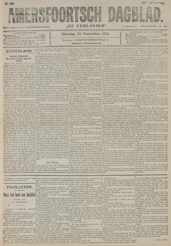 Amersfoortsch Dagblad / De Eemlander 1915-11-30