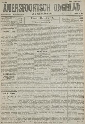 Amersfoortsch Dagblad / De Eemlander 1913-11-04