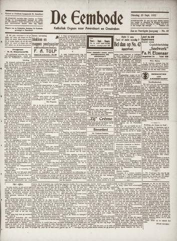 De Eembode 1932-09-20