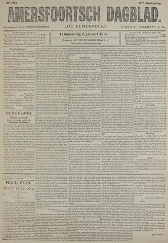 Amersfoortsch Dagblad / De Eemlander 1914-01-08