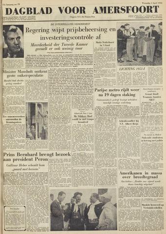 Dagblad voor Amersfoort 1951-04-04