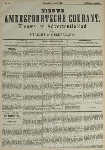 Nieuwe Amersfoortsche Courant 1889-04-24