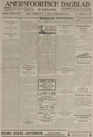 Amersfoortsch Dagblad / De Eemlander 1934-02-17