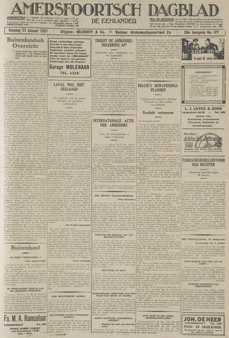 Amersfoortsch Dagblad / De Eemlander 1931-01-27