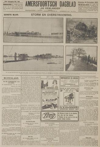Amersfoortsch Dagblad / De Eemlander 1925-11-30