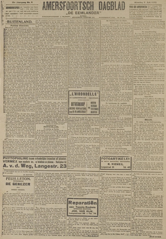 Amersfoortsch Dagblad / De Eemlander 1922-07-11