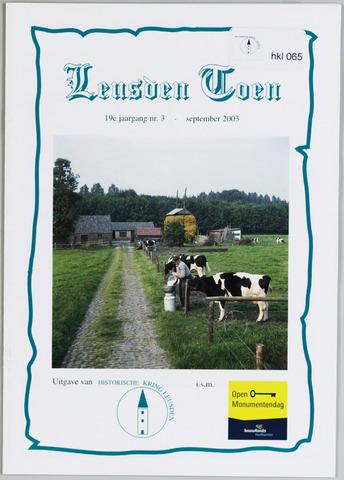 Historische Kring Leusden 2003-09-01