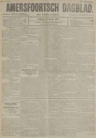 Amersfoortsch Dagblad / De Eemlander 1917-03-23