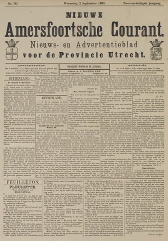 Nieuwe Amersfoortsche Courant 1903-09-02