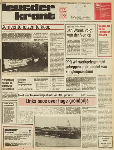 Leusder Krant 1981-10-20