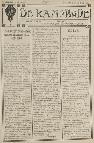 De Kampbode 1917-10-07