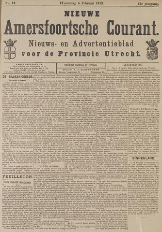 Nieuwe Amersfoortsche Courant 1913-02-05
