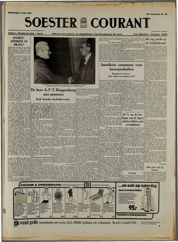 Soester Courant 1972-07-06